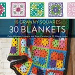 10 Granny Squares 30 Blankets by Margaret Hubert book review on Underground Crafter