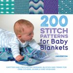 200 Stitch Patterns for Baby Blankets by Jan Eaton book review and giveaway
