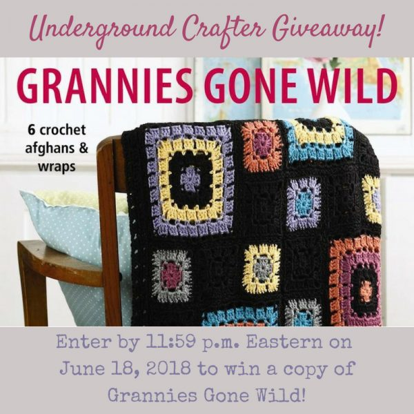 Grannies Gone Wild crochet pattern booklet review and giveaway on Underground Crafter