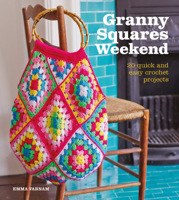 Granny Squares Weekend by Emma Varnam book review with pattern excerpt via Underground Crafter - book cover