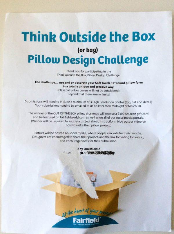 Free crochet pattern: Kodiak Bear Pillow Pal by Underground Crafter - Fairfield Think Outside the Box Pillow Design Challenge