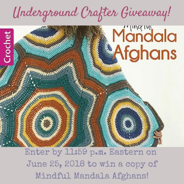 Mindful Mandala Afghans giveaway on Underground Crafter