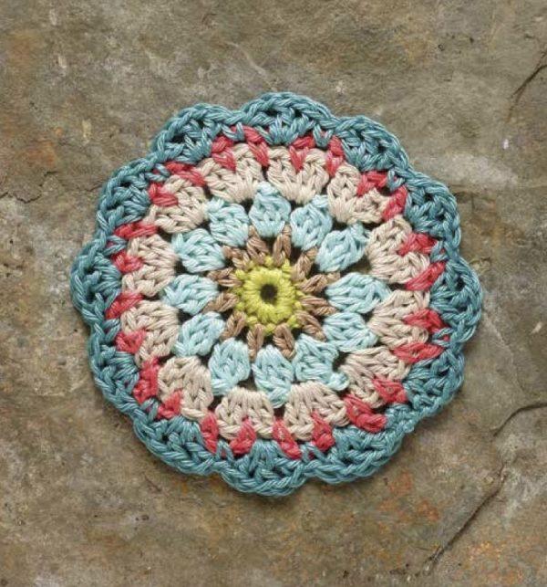 Petal Mandala, free crochet pattern by Carmen Heffernan via Underground Crafter