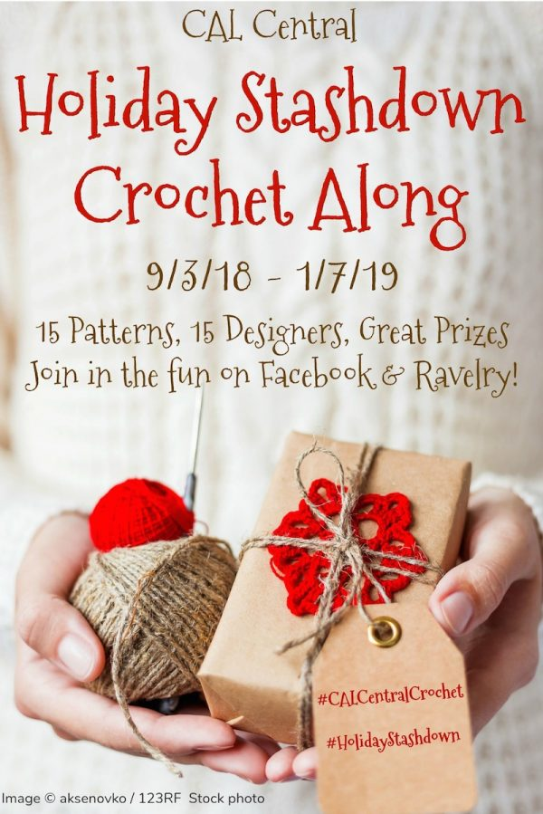 Announcing the 2018 Holiday Stashdown Crochet Along