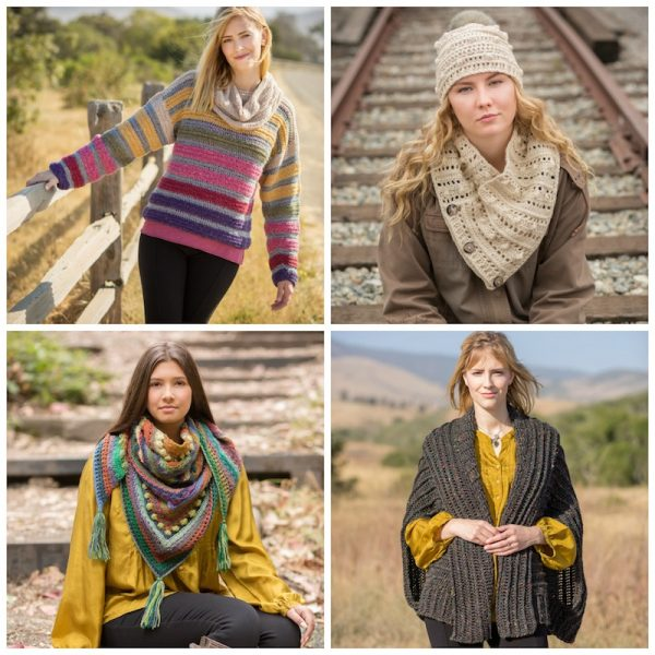 2018 Holiday Stashdown Crochet Along with CAL Central - 15 free crochet patterns by 15 designers and 17 prizes - Annie's Autumn Glory crochet collection prize