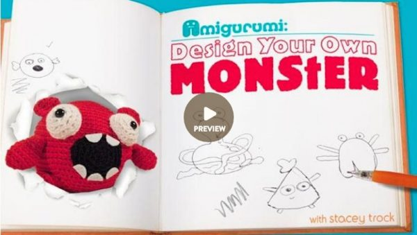 Design Your Own Monster class taught by FreshStitches for Craftsy