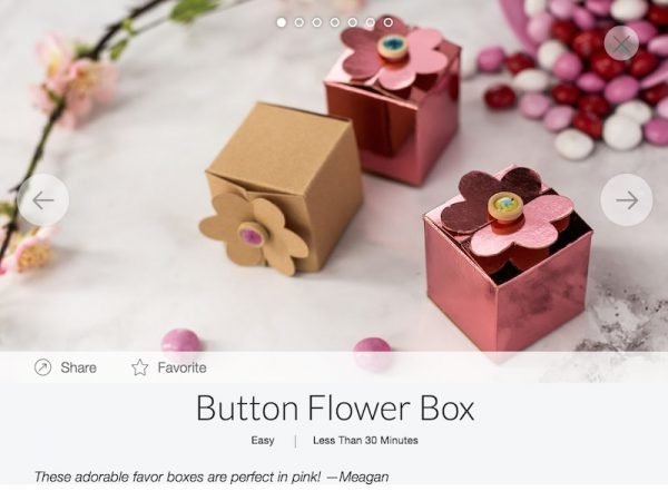 Get To Know Cricut Maker Scoring Wheels with Underground Crafter - Button Flower Box Project in Design Space