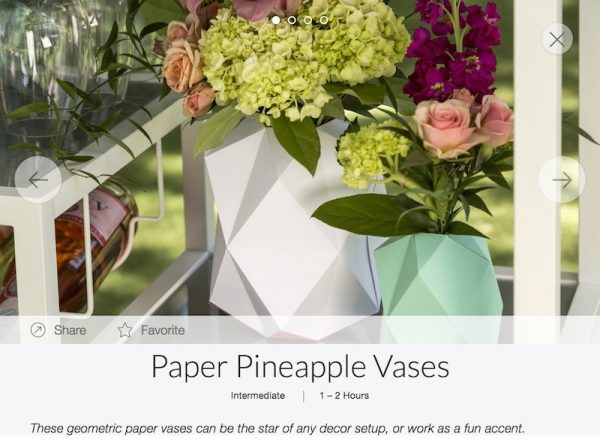 Get To Know Cricut Maker Scoring Wheels with Underground Crafter - Paper Pineapple Vases in Design Space