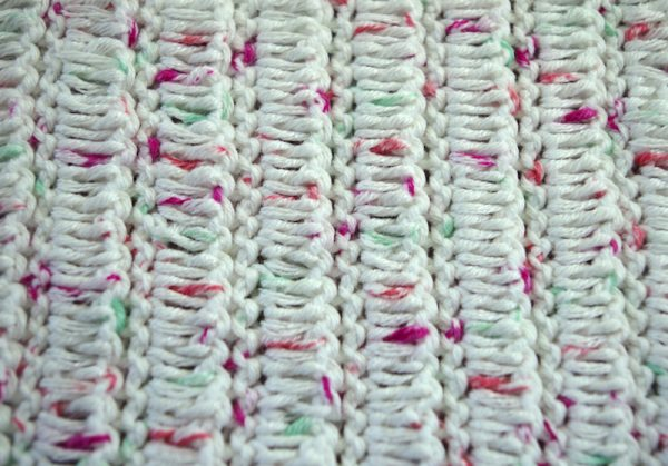 How To Crochet the Flat Ruching Stitch (with photo and video tutorials) by Charles Voth Designs for Underground Crafter