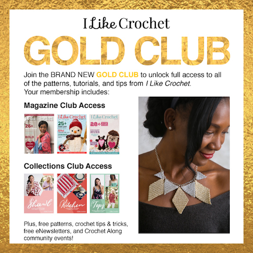 2018 Holiday Stashdown Crochet Along with CAL Central - 15 free crochet patterns by 15 designers and 17 prizes - I Like Crochet Gold Club membership prize