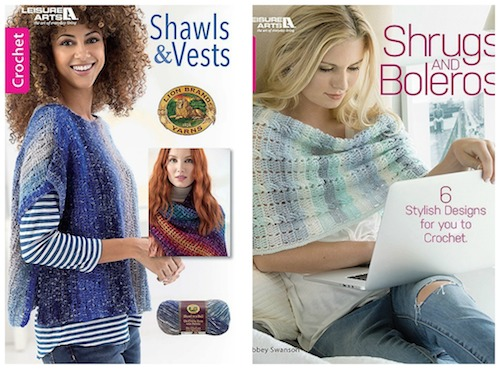 2018 Holiday Stashdown Crochet Along with CAL Central - 15 free crochet patterns by 15 designers and 17 prizes - Leisure Arts crochet book bundle prize