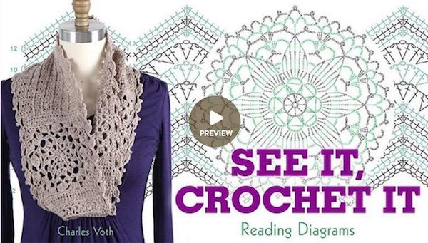 See It Crochet It Reading Diagrams class by Charles Voth on Craftsy