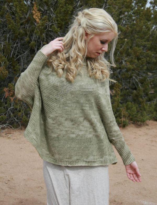 Coastline sweater by Karen Whooley from Coastal Crochet
