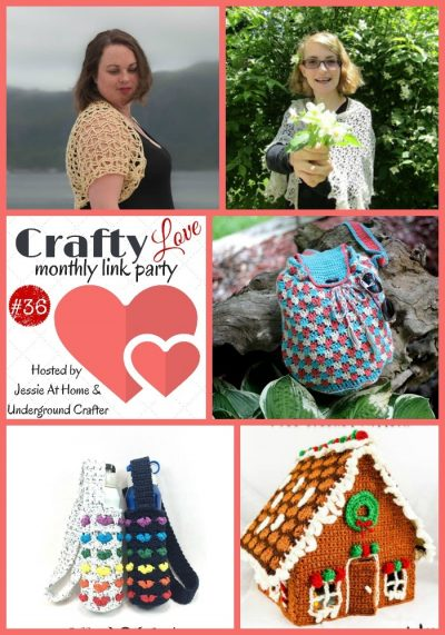 Crafty Love Link Party 36 (August, 2018): Collage of 5 most clicked posts from last month