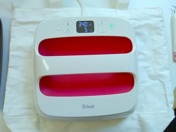 How To Make a Custom Makers Gonna Make Iron-On Bag with Cricut EasyPress 2 by Underground Crafter - EasyPress 2 on