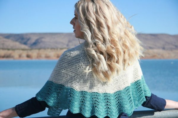 How To Work with Hand Dyed Yarn by Karen Whooley for Underground Crafter - Beachside from Coastal Crochet
