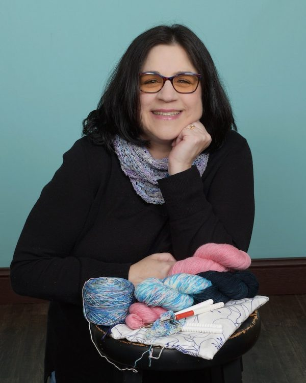 How To Work with Hand Dyed Yarn by Karen Whooley for Underground Crafter - Karen Whooley