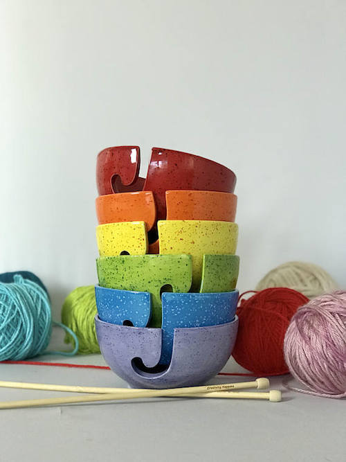 Phoenix Wrap Crochet-a-Long by Underground Crafter - Creativity Happens Yarn Bowl giveaway prize