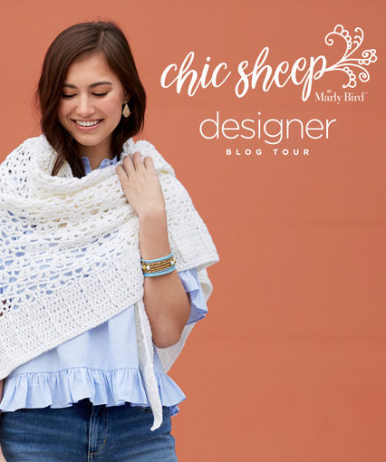 Red Heart Chic Sheep by Marly Bird Designer Blog Tour