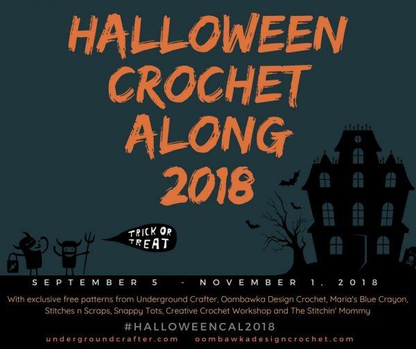 Announcing the 2018 Halloween Crochet Along | Underground