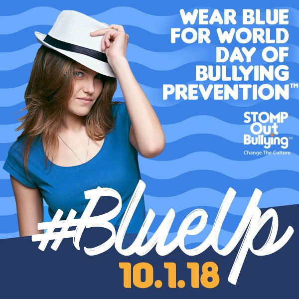 Stomp Out Bullying Blue Up