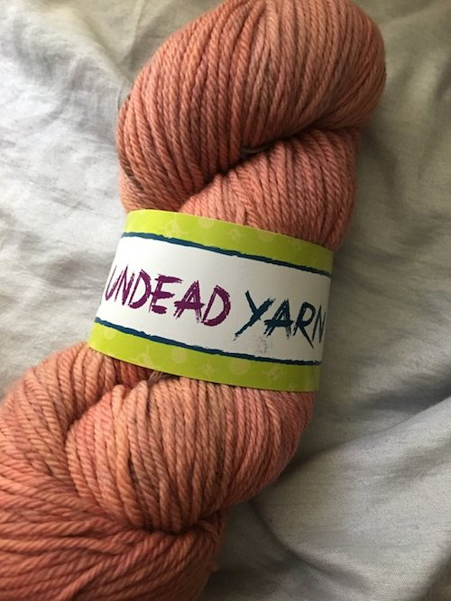 2018 Halloween Crochet Along with Oombawka Design Crochet and Underground Crafter giveaway prize - Undead Yarn