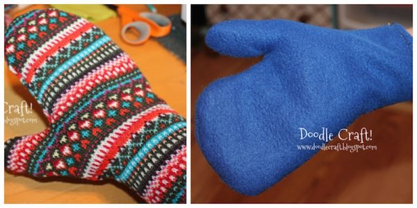 20 Free Handmade Mitten and Glove Patterns and Tutorials To Make Great Gifts via Underground Crafter | sewing tutorial collage