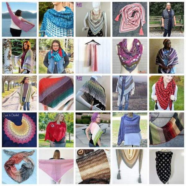 40 Free Crochet and Knitting Patterns for Shawls and Wraps