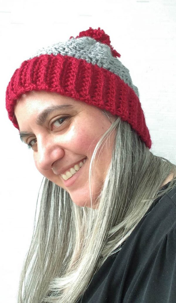 Free crochet pattern: Auntie Em Twister Hat in Sprightly Acrylic Super Bulky yarn in 6 sizes by Underground Crafter