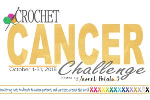 2018 Crochet Cancer Challenge with Sweet Potato 3