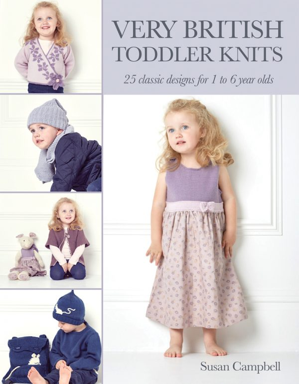 Very British Toddler Knits cover via Underground Crafter