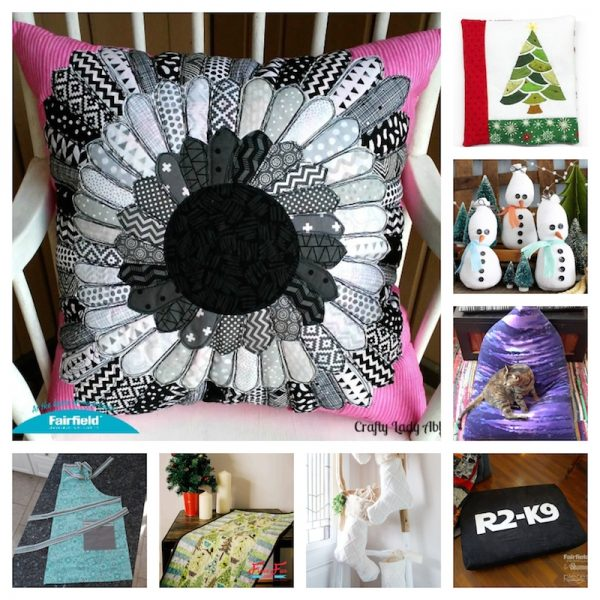 32 Handmade Patterns and Tutorials To Make Great Gifts for the Home via Underground Crafter - fabric and embroidery crafts collage