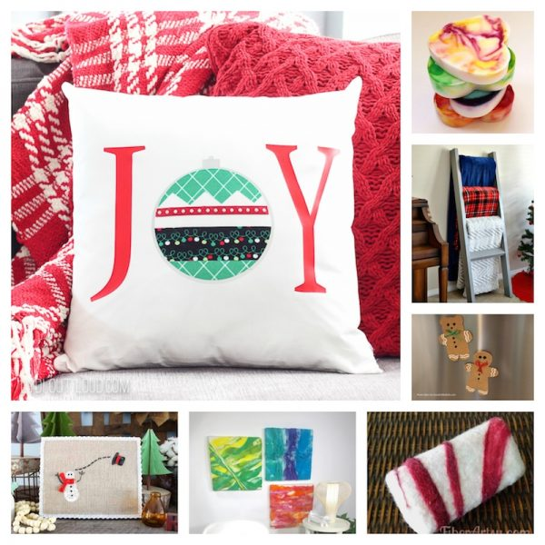 32 Handmade Patterns and Tutorials To Make Great Gifts for the Home via Underground Crafter - various crafts collage