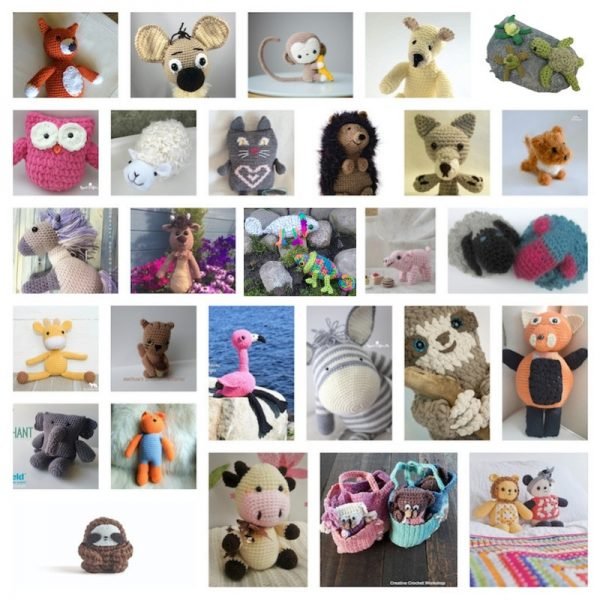 Amigurumi Miniature Animals Free Crochet Patterns & Paid - DIY Magazine | 600x600