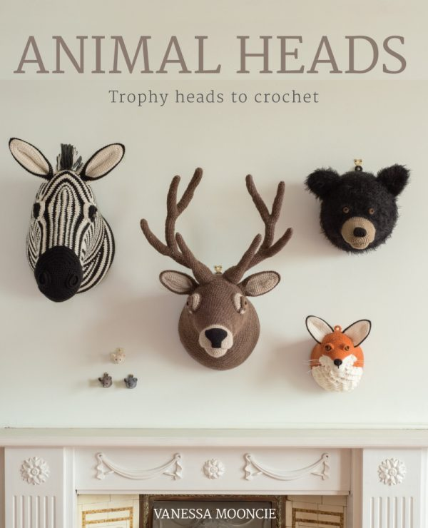Animal Heads by Vanessa Mooncie cover via Underground Crafter