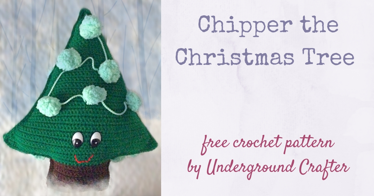 Crochet Pattern: Chipper The Christmas Tree