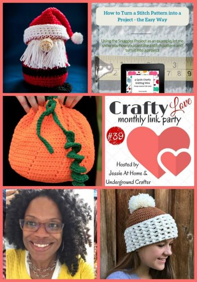 Crafty Love Link Party 39 (November, 2018) with Jessie At Home and Underground Crafter - top 5 posts from October link party