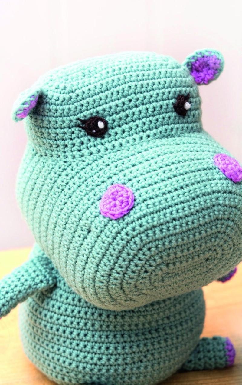 Cuddle Me Hippo amigurumi pattern - Amigurumi Today | 1271x800