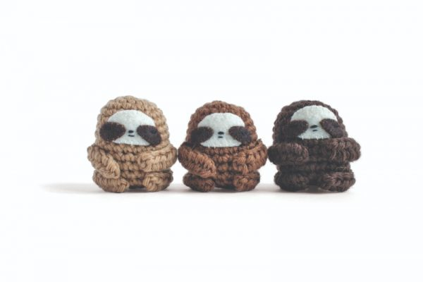 Sloth Crochet Patterns {The cutest projects to try!} | 400x600