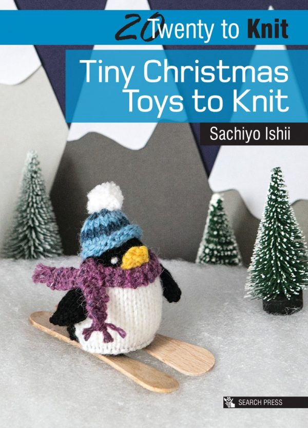 Tiny Christmas Toys to Knit by Sachiyo Ishii - book review with Gingerbread Man pattern excerpt on Underground Crafter | cover