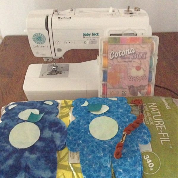 Answers to Your Top 5 Cricut Maker Questions + How To Make a Vintage Bear Softie by Underground Crafter | sewing supplies