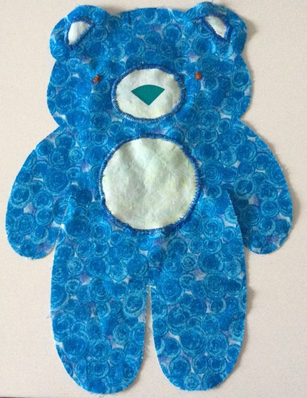 Answers to Your Top 5 Cricut Maker Questions + How To Make a Vintage Bear Softie by Underground Crafter | facial features sewn in place