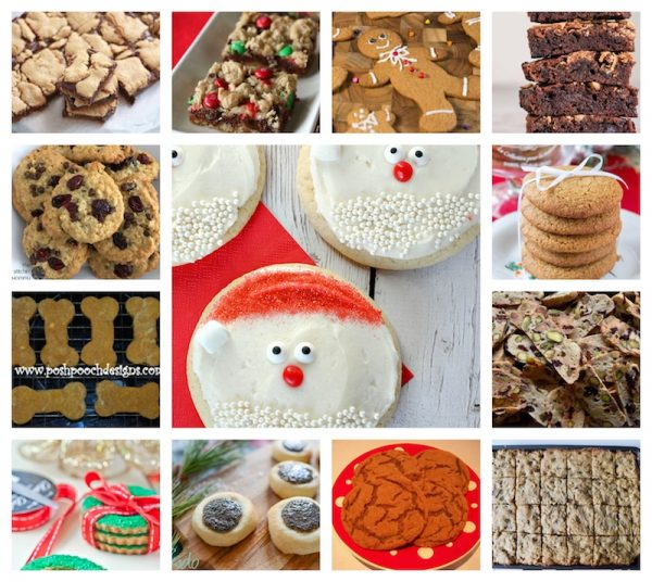 30 Delicious Holiday Sweets to Make Great Gifts via Underground Crafter - cookies, bars, and brownies collage
