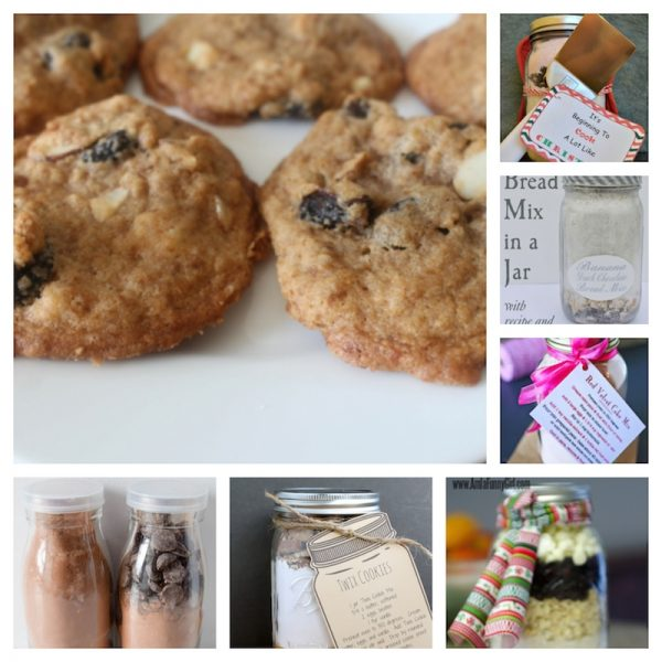 30 Delicious Holiday Sweets to Make Great Gifts via Underground Crafter - jar mix gifts collage