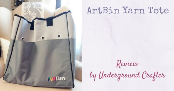 ArtBin Yarn Tote review by Underground Crafter