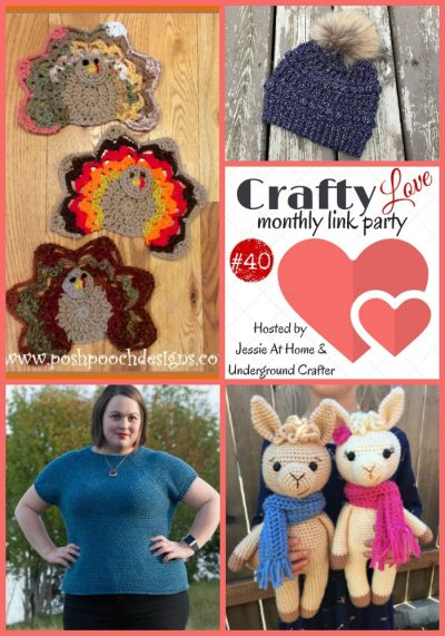Crafty Love Link Party 40/December 2018 | Top 4 featured posts