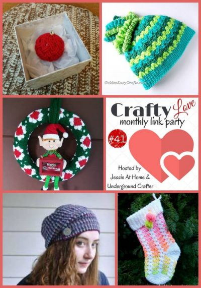 Craft Love Link Party 41 (January 2019) collage