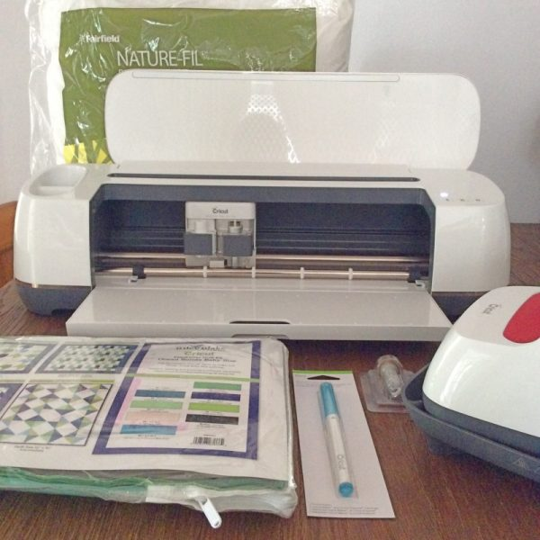 Get To Know the Cricut Maker Rotary Blade with Pillow Sneak Peek on Underground Crafter | Patchwork Pillow Project supplies