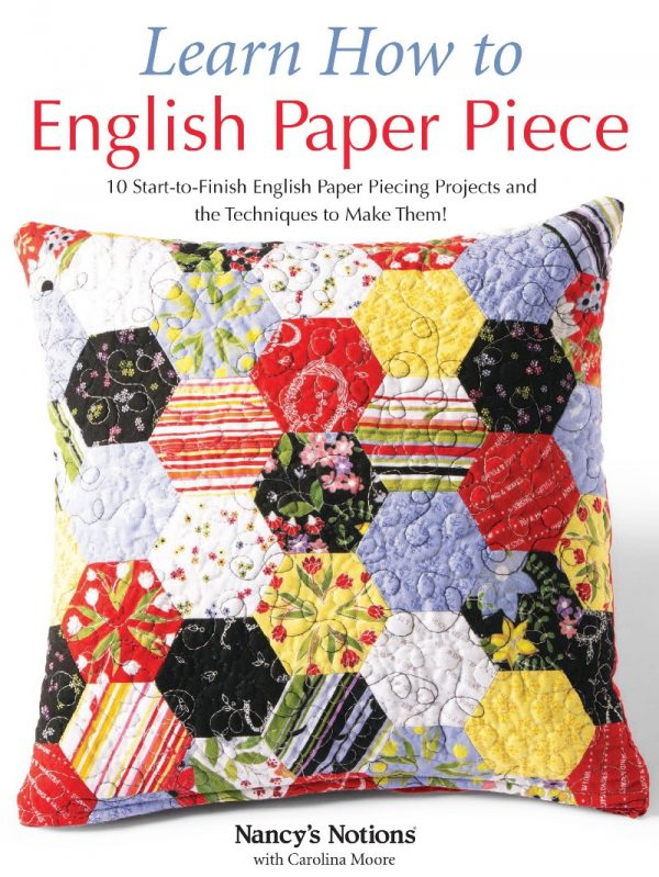 Learn How to English Paper Piece by Carolina Moore book review on Underground Crafter - book cover