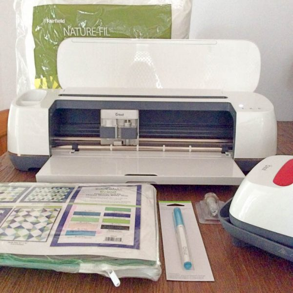 Modern Quilt Pillow with Cricut Maker Rotary Blade tutorial by Underground Crafter | supplies